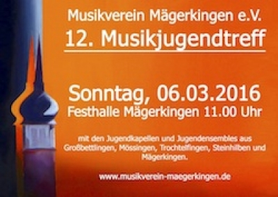 Musikjugendtreff am 06.03.2016 in der Festhalle